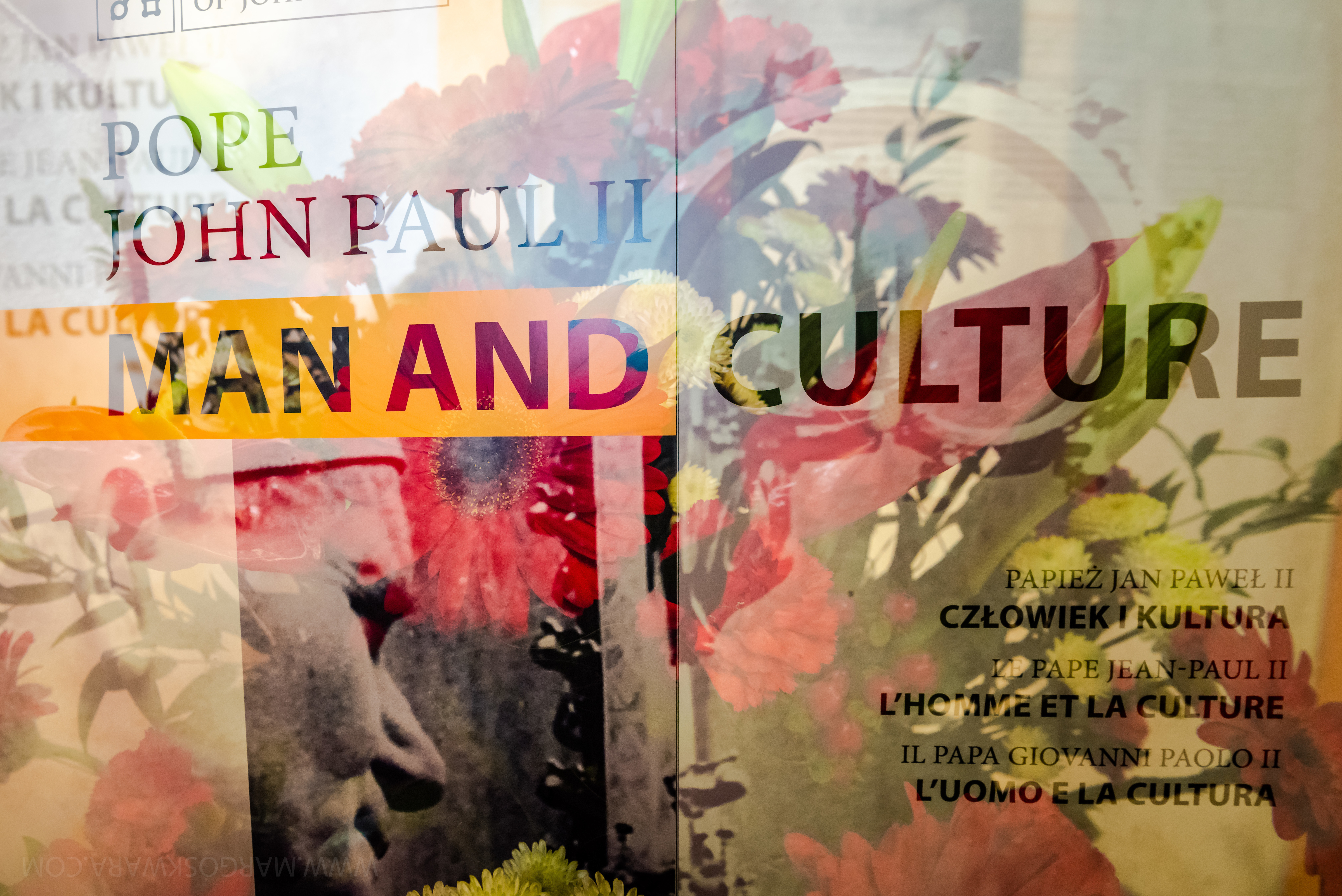 "Vernissage, Exposition ""Jean Paul II: homme et culture""; fot. © by Margo Skwara"